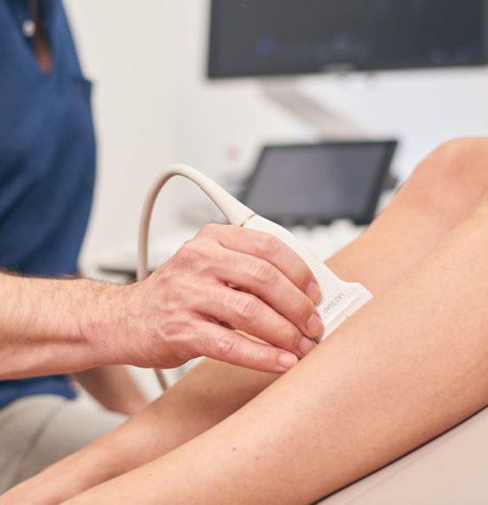 Dr. Kusenack - Privatpraxis für Gefäßchirurgie Düsseldorf - Ultraschalluntersuchung - Thrombose